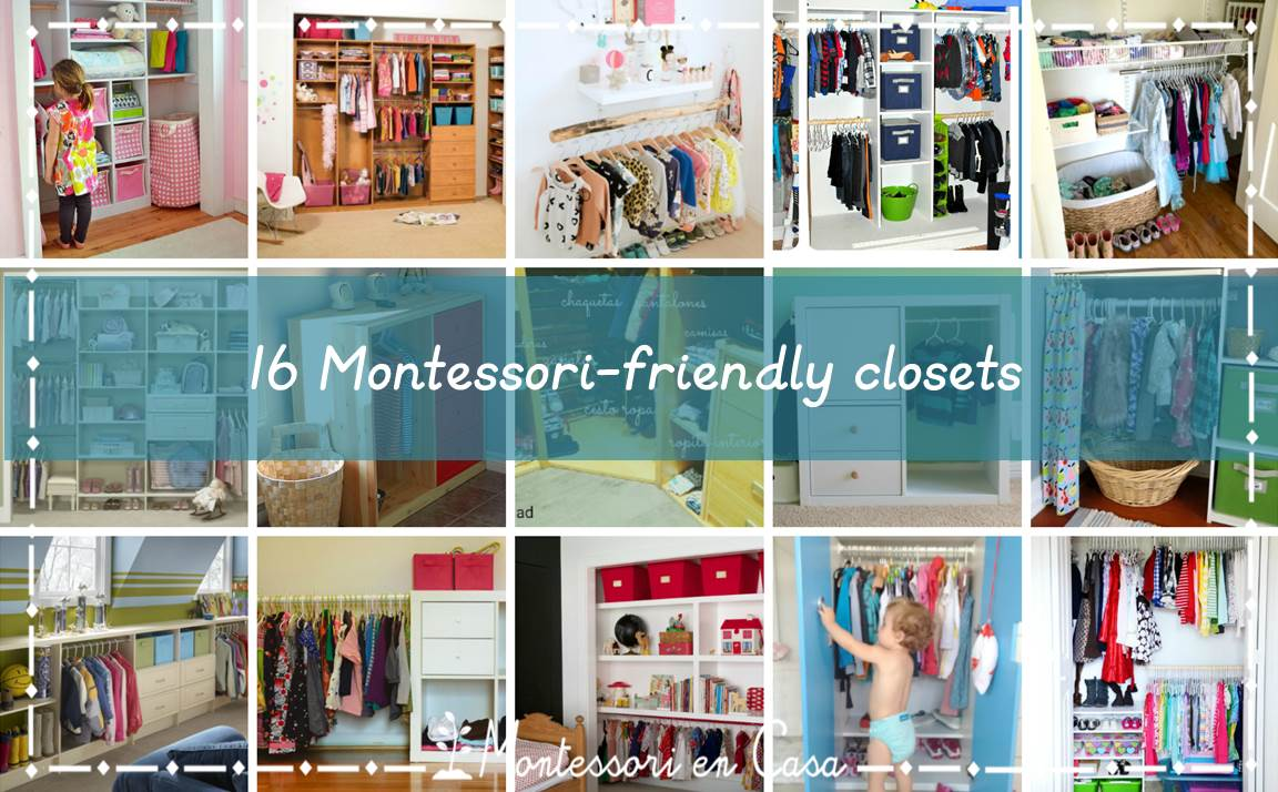 16 Montessori friendly closets
