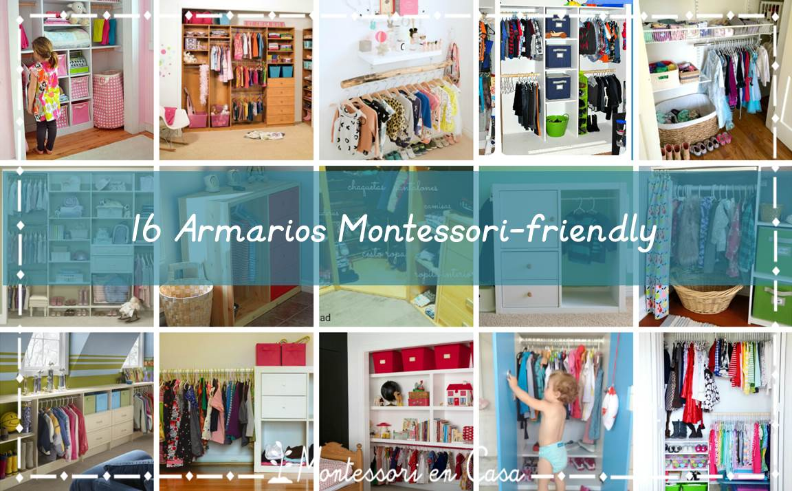 16 armarios Montessori-friendly - 16 Montessori friendly ...
