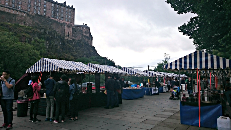 2.edinburgh farmers market