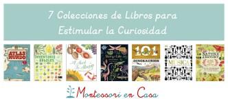 7 colecciones de libros para estimular la curiosidad