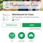 ¡Montessori en Casa ya tiene App!