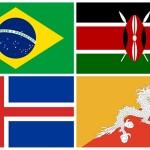 Banderas de países para imprimir – Printable country flags