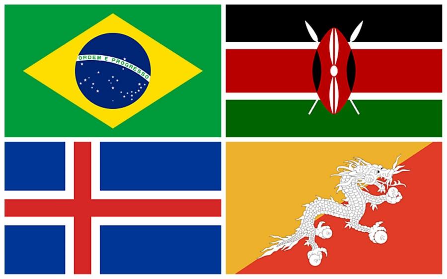 Banderas de países para imprimir - Printable country flags ...