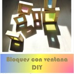 Bloques con ventanas de colores DIY – DIY colored window blocks