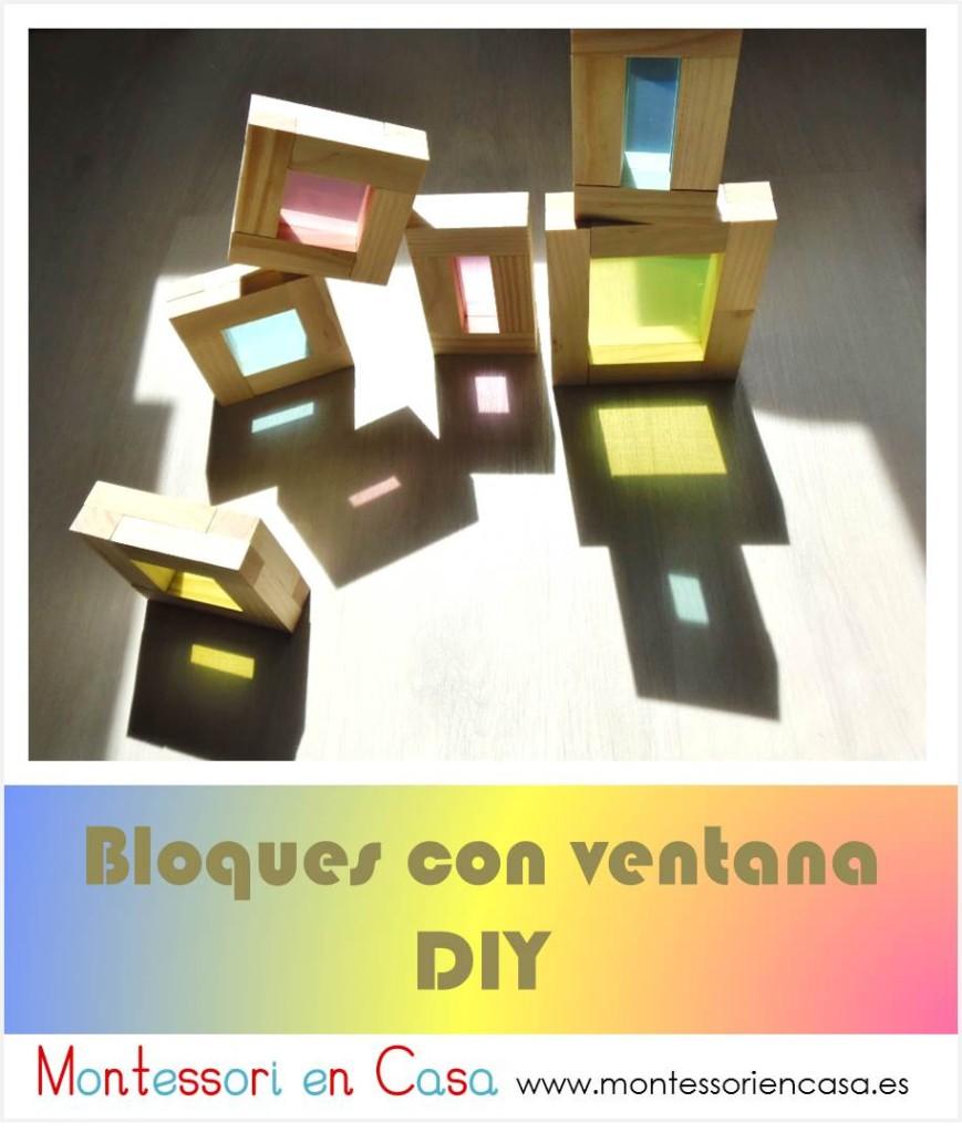 Bloques con ventana DIY