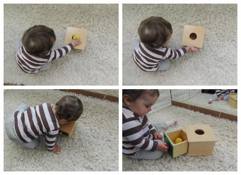 Cajas de permanencia – Object permanence boxes