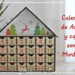 Calendario de Adviento y caja de sonidos Montessori