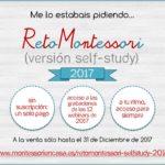 Vuelve RetoMontessori self-study, sólo hasta fin de año