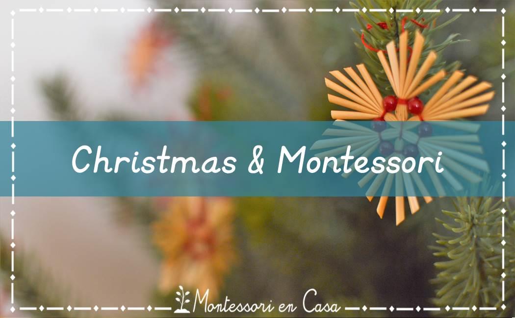 Christmas & Montessori