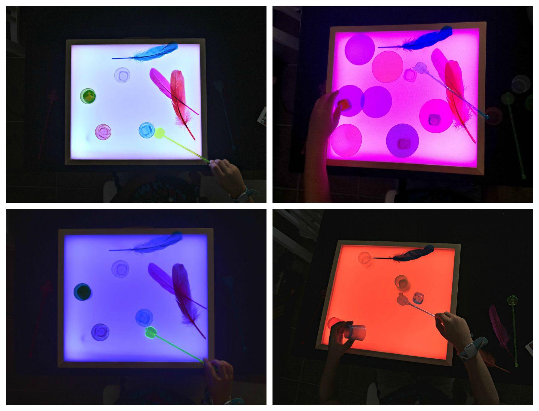 Collage caja de luz