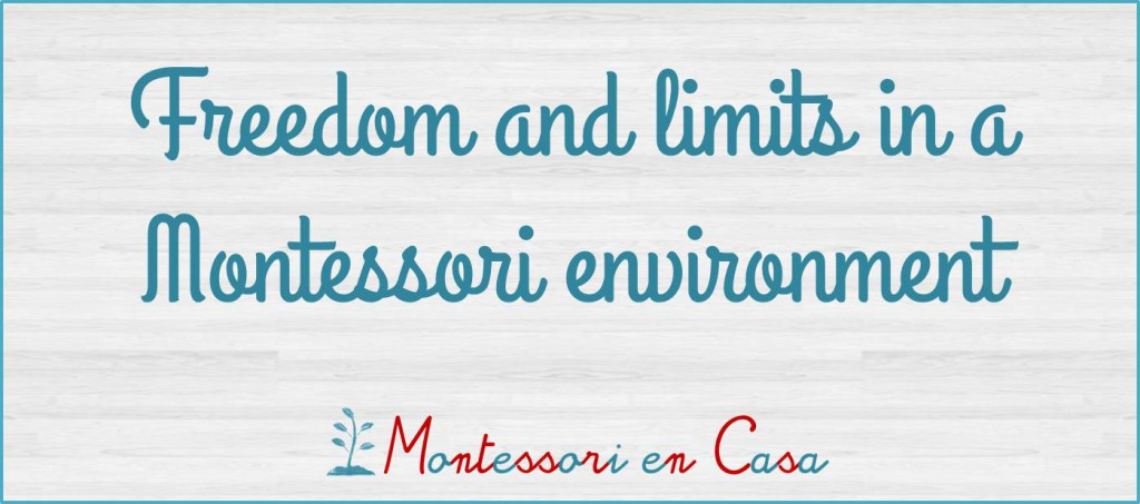 Freedom and limits in Montessori