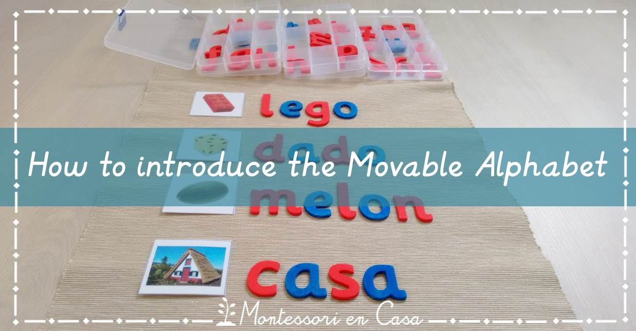 How to introduce movable alphabet
