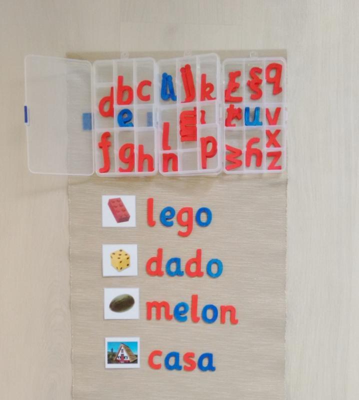Cómo presentar el alfabeto móvil Montessori