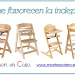 Tronas que favorecen la independencia – Independence high chairs