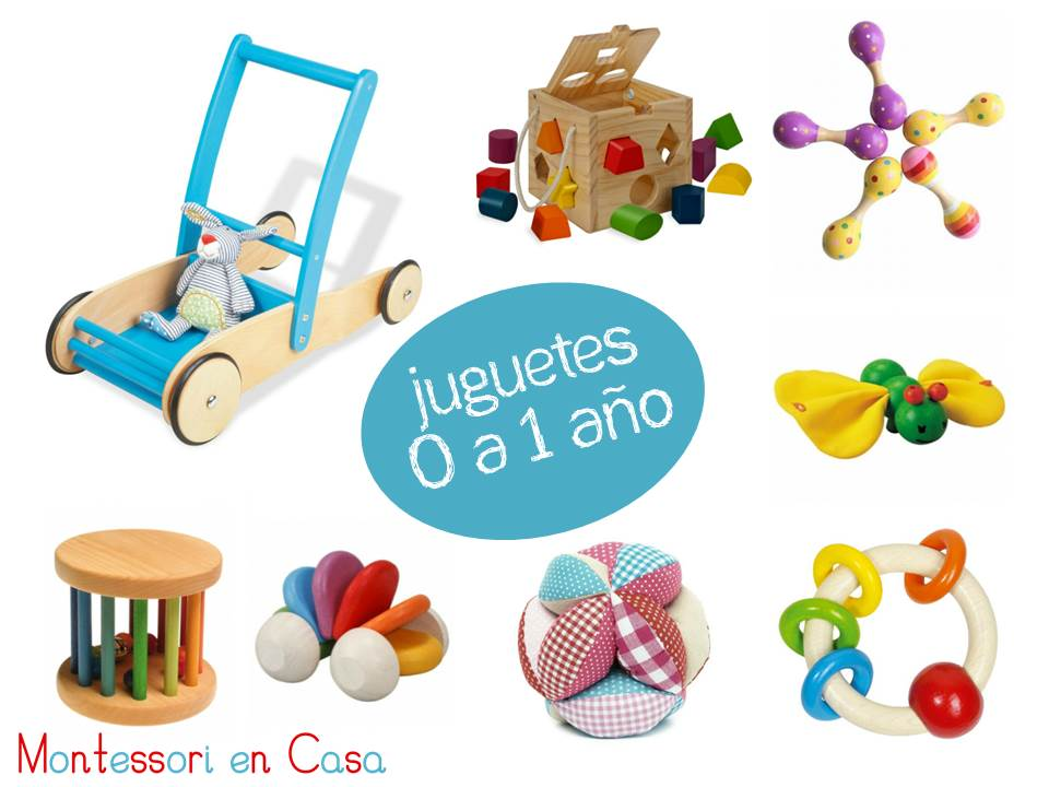 Juguetes Por Edad De 0 A 1 Ano Toys By Age 0 To 1 Montessori