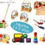 Juguetes por edad: 1 a 2 años – Toys by age: 1 to 2