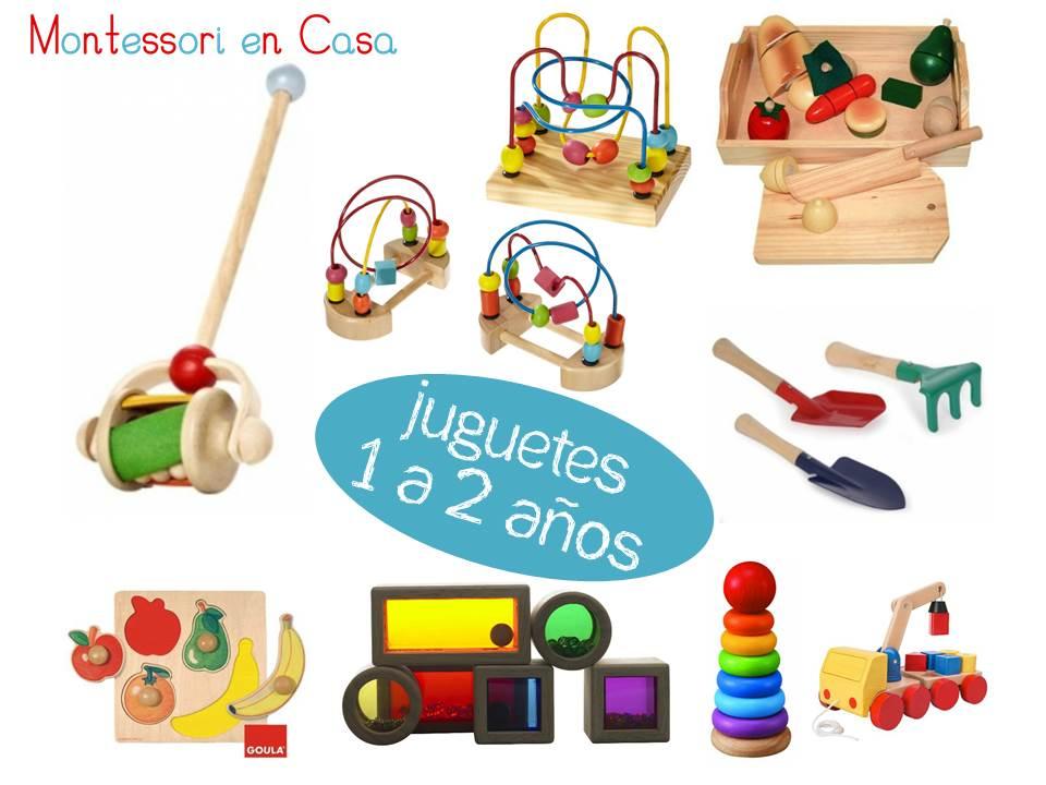Juguetes Por Edad 1 A 2 Anos Toys By Age 1 To 2 Montessori En Casa