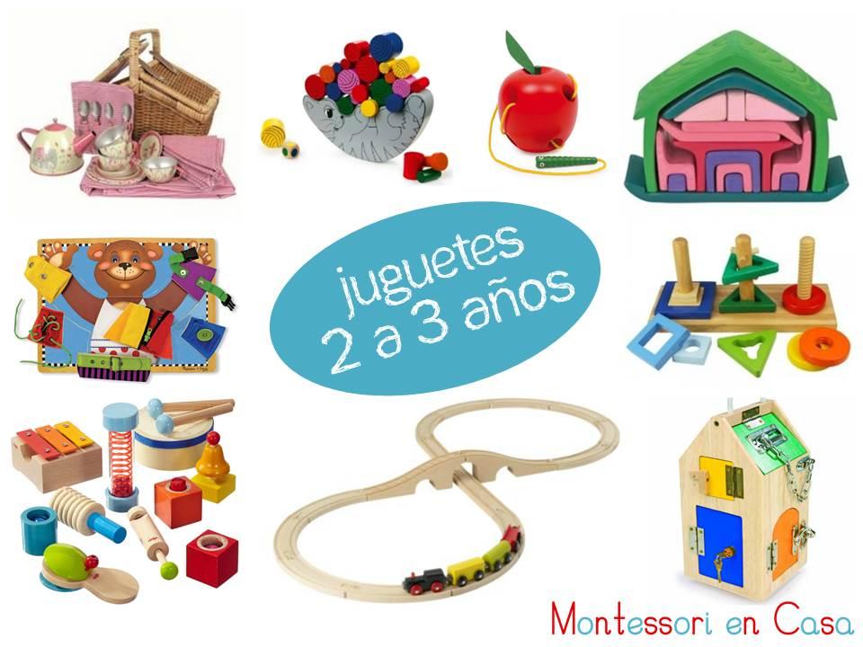 Juguetes Por Edad 2 A 3 Anos Toys By Age 2 To 3 Montessori En Casa