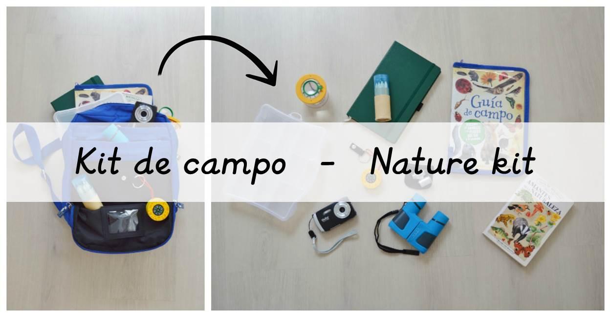 Kit de campo - Nature kit