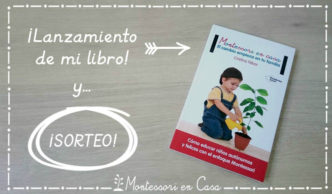 Lanzamiento libro Montessori en Casa y sorteo