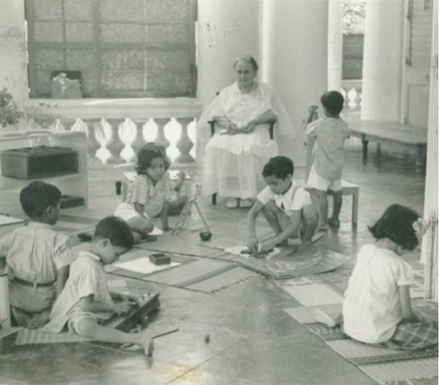 MariaMontessori India 1939