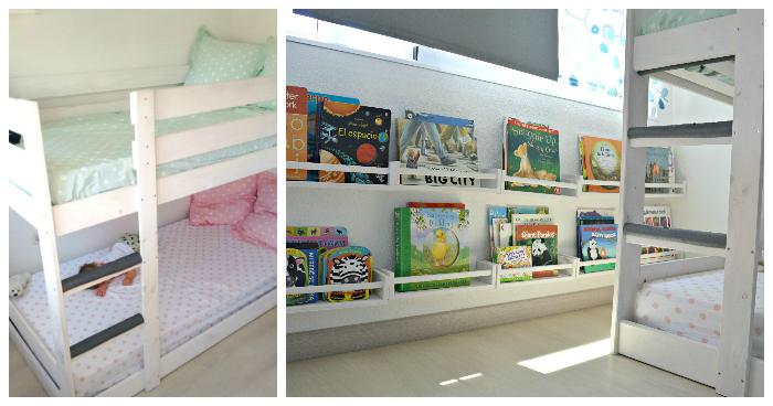 23 habitaciones de beb inspiradas en montessori - Habitacion para 2 ninos ...