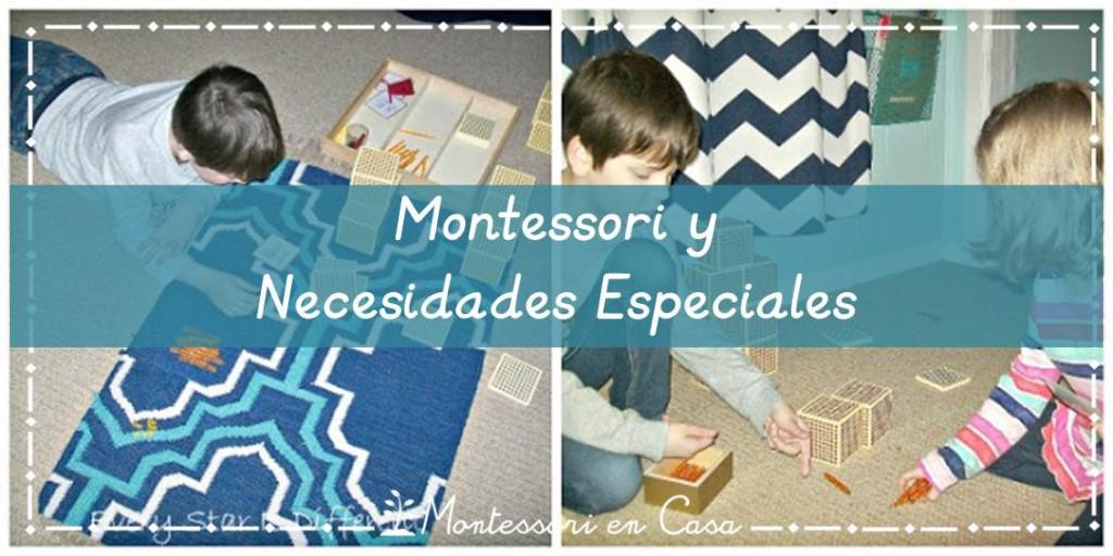 Montessori y Necesidades Especiales