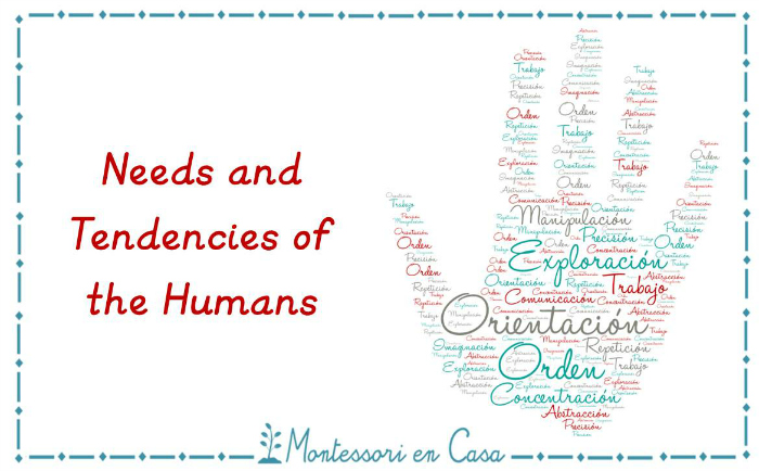 the human tendencies Maria montessori about human tendencies quotes - 1 we discovered that education is not something which the teacher does, but that it is a natural process which.