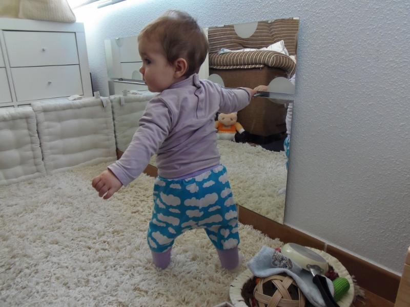 Novedades en nuestro ambiente preparado barra y espejo for Espejo para ver al bebe