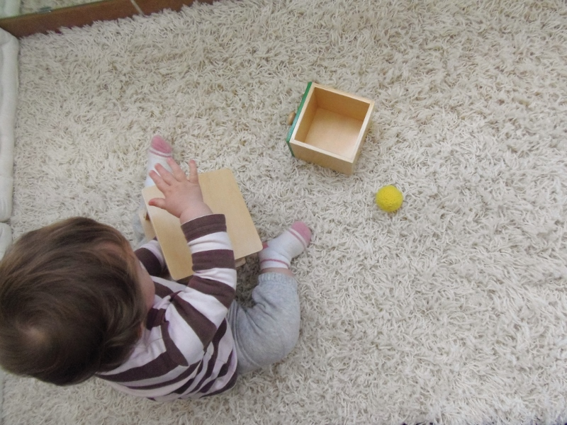 caja de permanencia con cajón