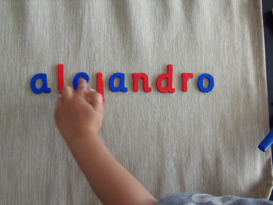 DIY alfabeto movible