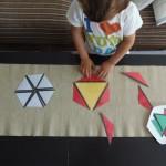 Triángulos Constructores (imprimible gratis) – Constructive Triangles (free printable)