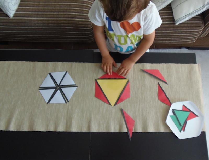 Triángulos constructores