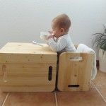 Probando: Sillas cubo de Woomo – Testing: Cube chairs by Woomo