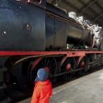 Visita al Museo del Ferrocarril – Visiting Museo del Ferrocarri (railway museum)