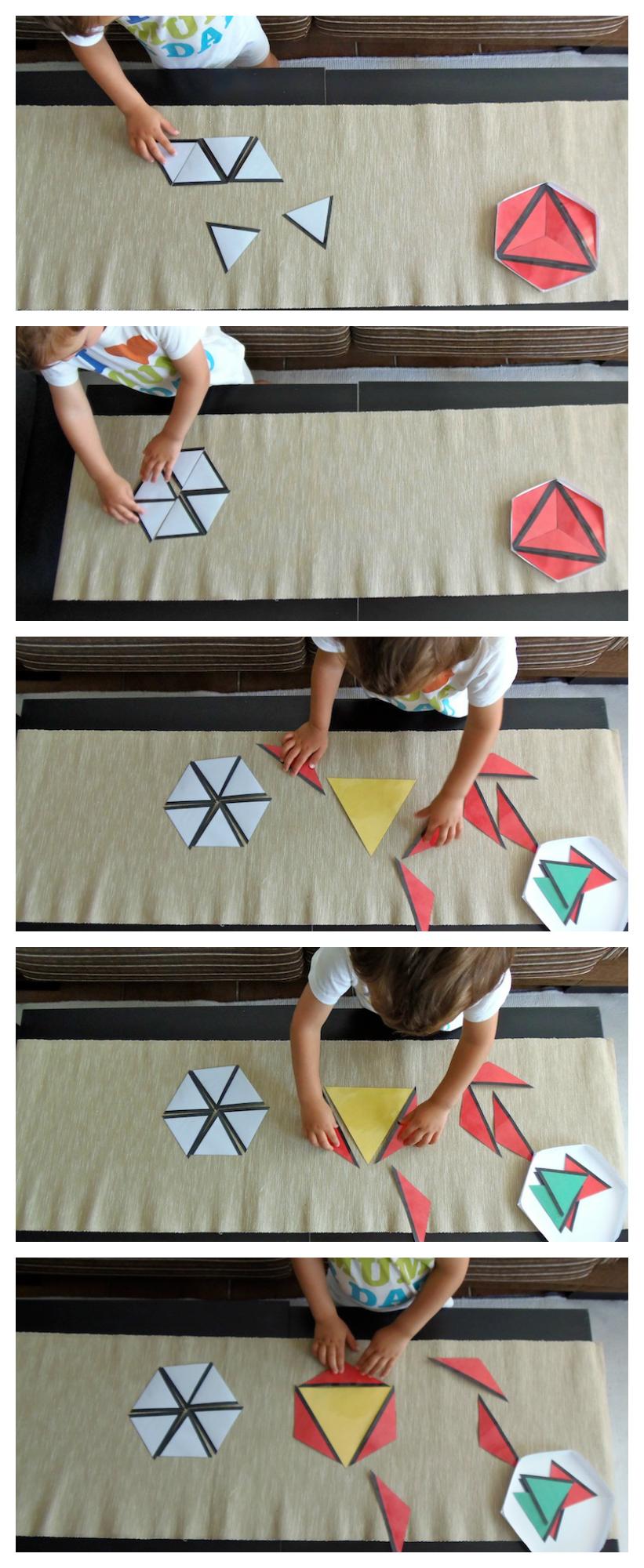 Triangulos Constructores Montessori