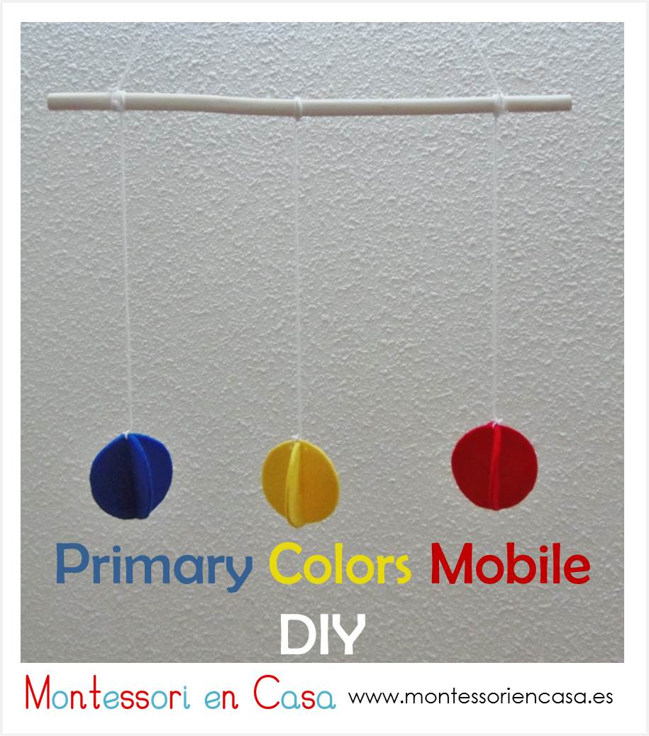 Primary Colors Mobile DIY