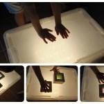 Nuestra caja de luz DIY – Our DIY light box