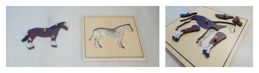Puzzle caballo Mina Itse
