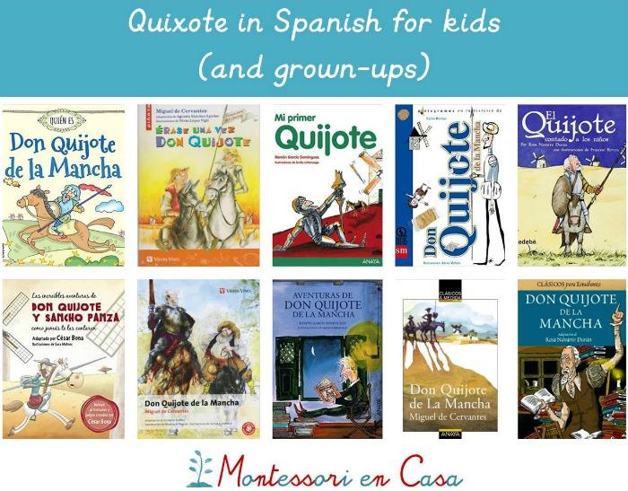 Quixote for kids