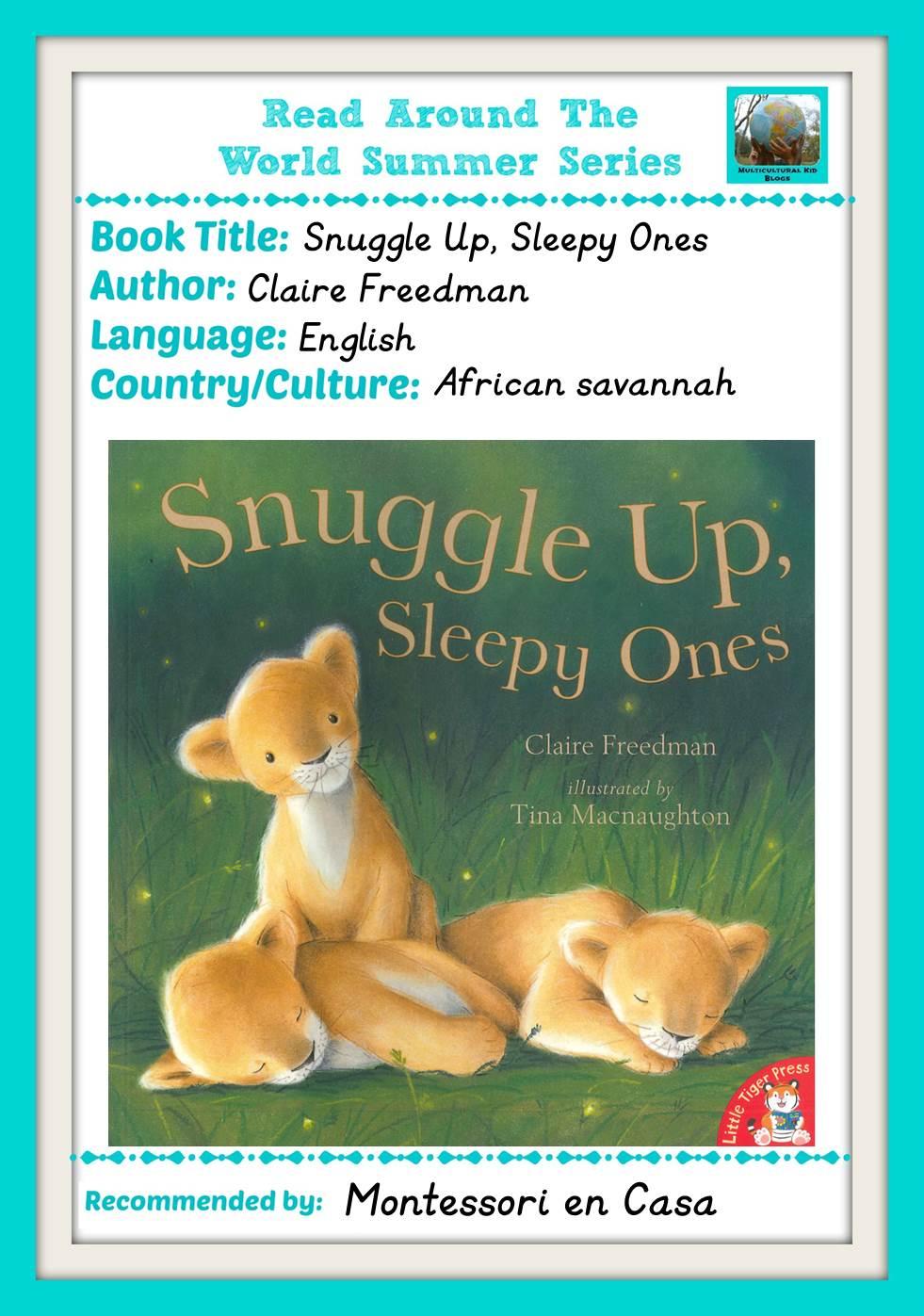 Read Snuggle up sleepy ones.