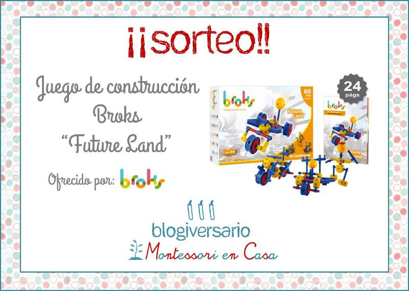 Sorteo Broks Montessori en Casa