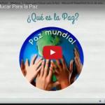 """Grabación del webinar """"5 Claves para Educar para la Paz"""""""