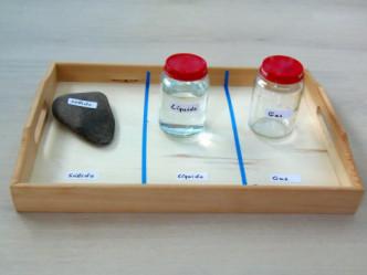 Montessori en Casa: Estados de la materia -States of matter