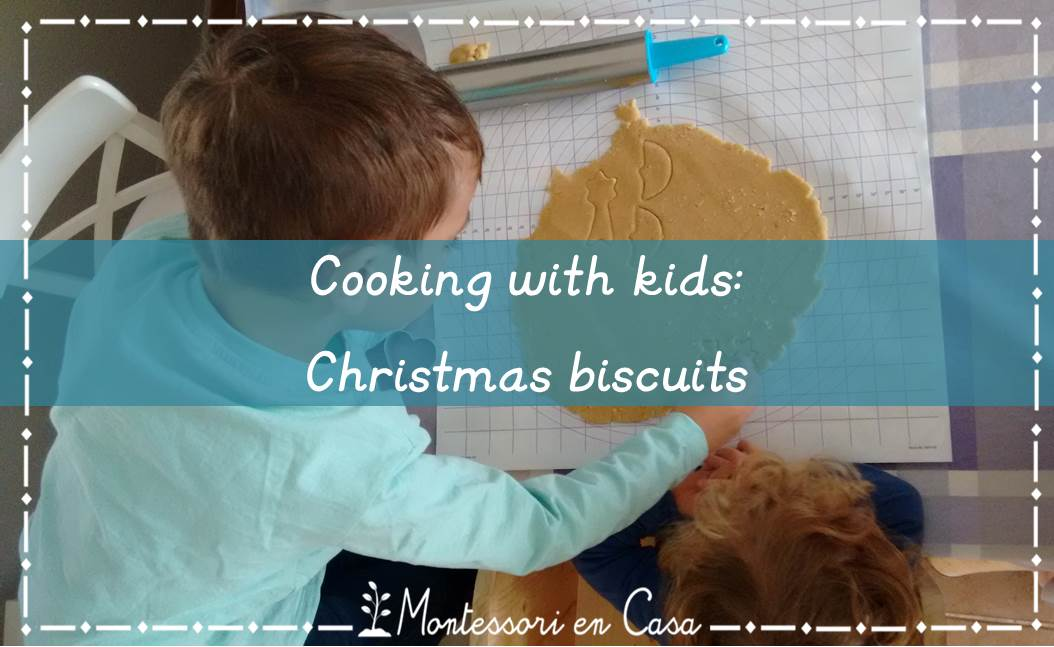 cooking with kids - Christmas biscuits