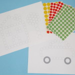 Imprimible para Pegatinas Circulares – Printable for Dot Stickers