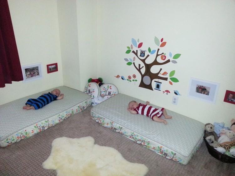 23 habitaciones de beb inspiradas en montessori - Habitacion con literas para ninos ...