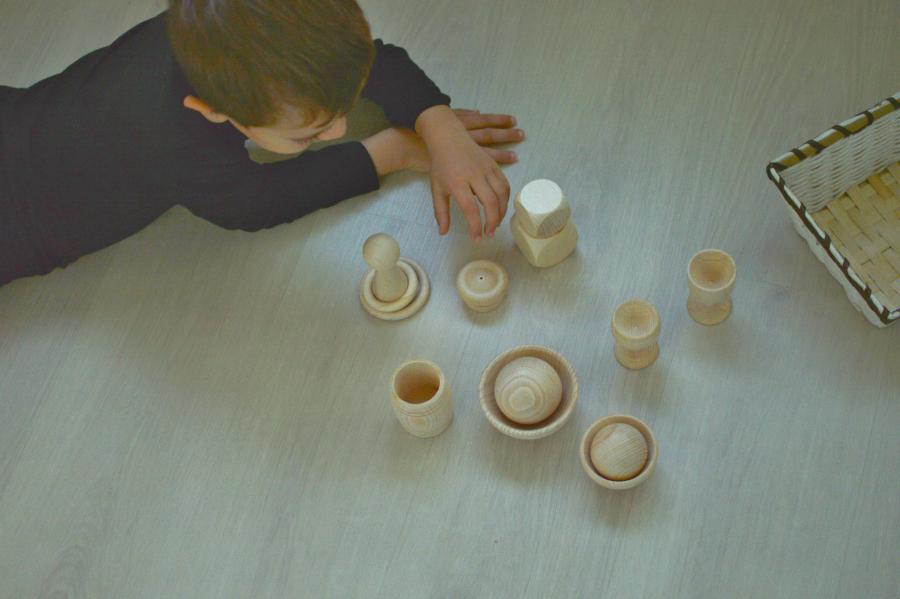 piezas madera - Montessori en casa 7