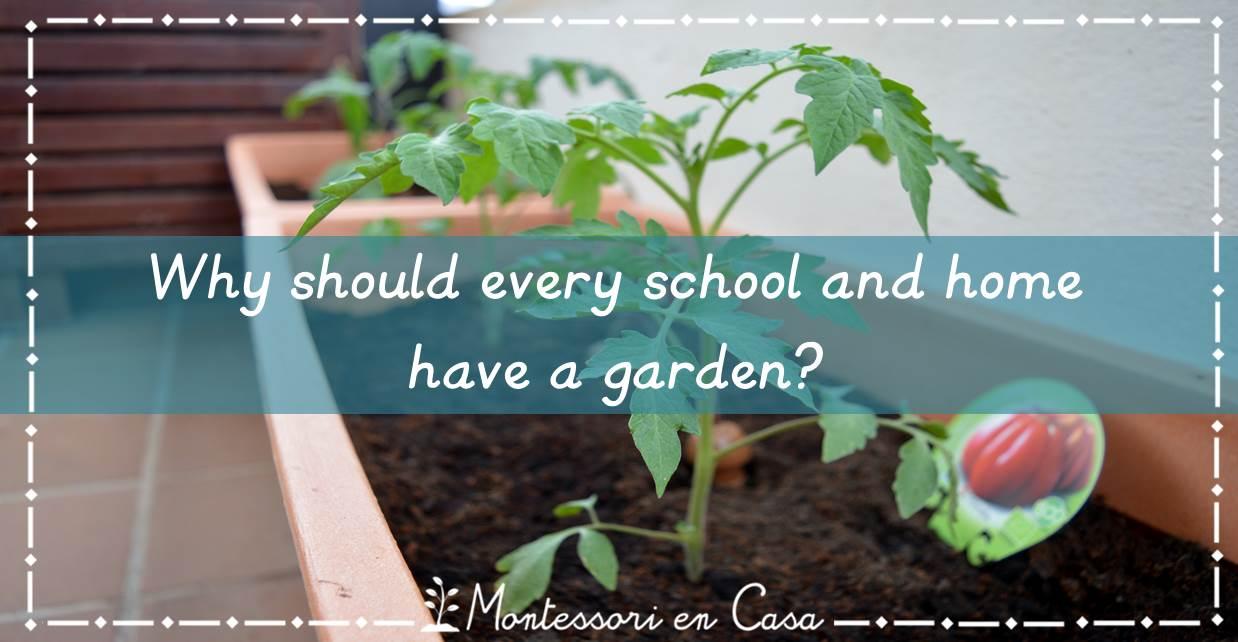 school and home garden