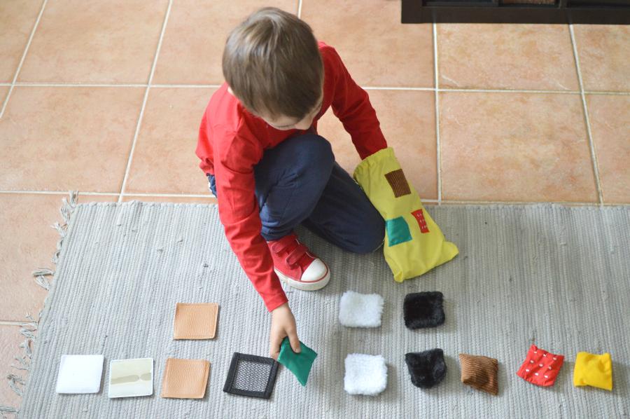 texturas - Montessori en casa